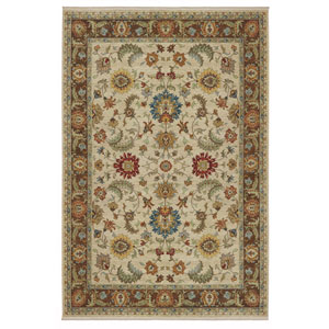 Sovereign Anastasia Multicolor Rectangular: 8 Ft 8 In x 12 Ft Rug