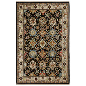 Sovereign Emir Multicolor Rectangular: 10 Ft x 14 Ft Rug