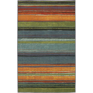 Rainbow Multicolor Rectangular: 7 Ft. 6-Inch x 10 Ft. Rug