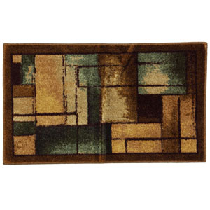 New Wave Roby Blue Rectangular: 1 Ft. 8 In. x 2 Ft. 10 In. Rug