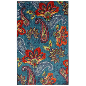 Whinston Multicolor Rectangular: 2 Ft. 6-Inch x 3 Ft. 10-Inch Rug