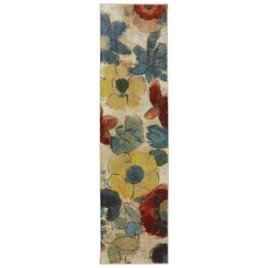 Wildflower Light Multicolor Runner: 2 Ft. x 8 Ft.