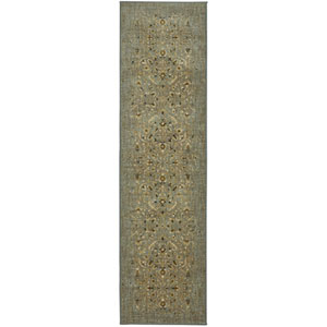 Titanium Andeols Seaglass Runner: 2 Ft. 1 In. x 7 Ft. 10 In. Rug