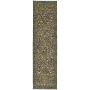 Titanium Andeols Slate Runner: 2 Ft. 1-Inch x 7 Ft. 10-Inch