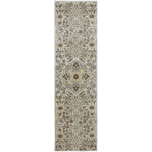 Euphoria Edenderry Sand Stone Runner: 2 Ft. 4 In. x 7 Ft. 10 In. Rug