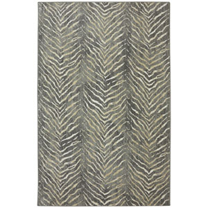 Euphoria Aberdeen Slate Rectangular: 3 Ft 6 In x 5 Ft 6 In Rug
