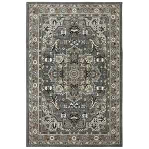 Euphoria Rhodes Multicolor Rectangular: 3 Ft 6 In x 5 Ft 6 In Rug
