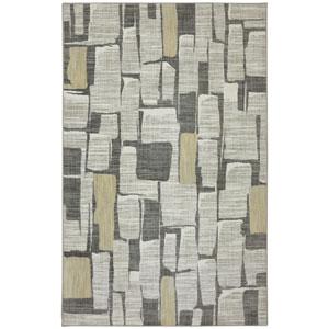 Euphoria Limerick Sandstone Rectangular: 3 Ft 6 In x 5 Ft 6 In Rug