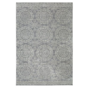 Pacifica Leawood Gray Rectangular: 3 Ft. 5-Inch x 5 Ft. 5-Inch