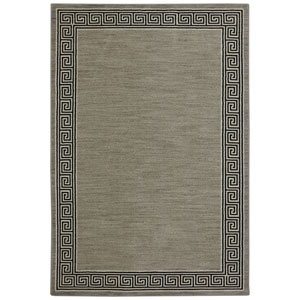 Pacifica Collier Gray Rectangular: 3 Ft 5 In x 5 Ft 5 In Rug