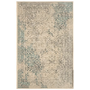 Euphoria Ayr Natural Rectangular: 3 Ft 6 In x 5 Ft 6 In Rug