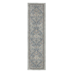 Euphoria Galway Willow Gray Runner: 2 Ft. 4 In. x 7 Ft. 10 In. Rug