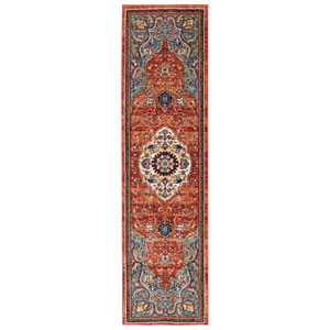 Spice Market Petra Multicolor Runner: 2 Ft. 4 In. x 7 Ft. 10 In. Rug