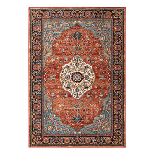 Spice Market Petra Multicolor Rectangular: 5 Ft 3 In x 7 Ft 10 In Rug