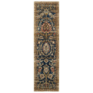 Spice Market Charax Gold Runner: 2 Ft. 4 In. x 7 Ft. 10 In. Rug