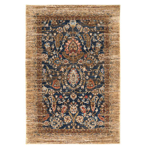 Spice Market Charax Gold Rectangular: 5 Ft 3 In x 7 Ft 10 In Rug