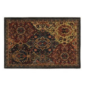 Spice Market Levant Multicolor Rectangular: 2 Ft. x 3 Ft. Area Rug