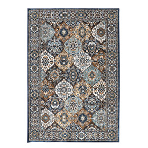 Spice Market Levant Sapphire Rectangular: 3 Ft 5 In x 5 Ft 5 In Rug