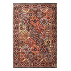 Spice Market Levant Multicolor Rectangular: 8 Ft x 11 Ft Rug