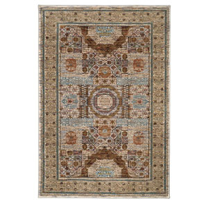 Spice Market Cyprus Cream Rectangular: 3 Ft 5 In x 5 Ft 5 In Rug