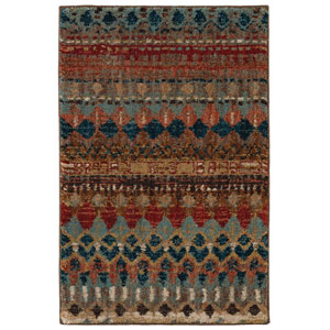 Spice Market Saigon Multicolor Rectangular: 2 Ft. x 3 Ft. Rug
