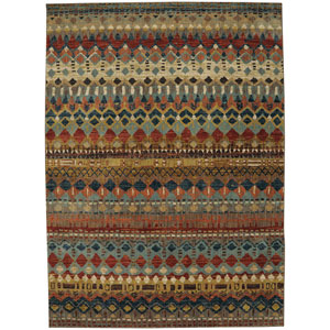 Spice Market Saigon Multicolor Rectangular: 5 Ft. 3-Inch x 7 Ft. 10-Inch Area Rug