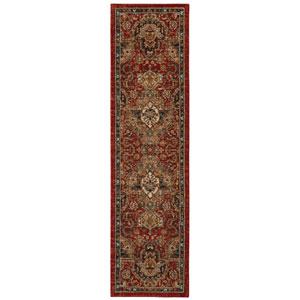 Spice Market Dhahar Garnet Runner: 2 Ft. 4 In. x 7 Ft. 10 In. Rug
