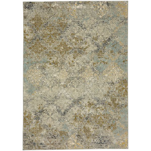 Touchstone Moy Willow Gray Rectangular: 5 Ft. 3-Inch x 7 Ft. 10-Inch Area Rug