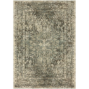 Touchstone Sanctuary Sandstone by Virginia Langley Runner: 2 Ft. 4 In. x 7 Ft. 10 In. Rug
