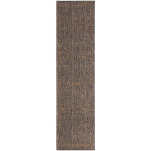 Cosmopolitan Montmartre Smokey Gray Runner: 2 Ft. 4 In. x 7 Ft. 10 In. Rug