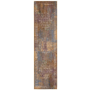Cosmopolitan Arcadia Multicolor Runner: 2 Ft. 4 In. x 7 Ft. 10 In. Rug
