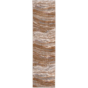 Enigma Continuum Desert Runner: 2 Ft. 4 In. x 7 Ft. 10 In. Rug
