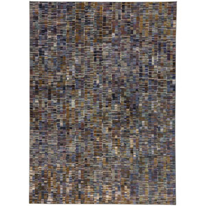 Enigma Paradox Multicolor Rectangular: 5 Ft. 3-Inch x 7 Ft. 10-Inch Area Rug