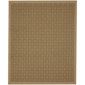 Portico Naxos Natural Rectangular: 5 Ft. 3 In. x 7 Ft. 10 In. Indoor/Outdoor Rug
