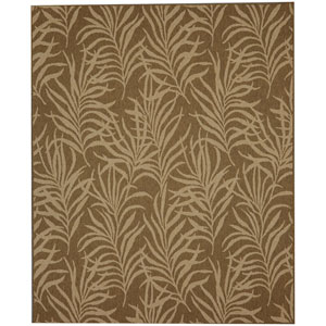 Portico Hanalei Bay Natural Rectangular: 5 Ft. 3 In. x 7 Ft. 10 In. Indoor/Outdoor Rug