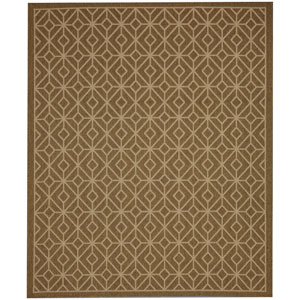 Portico Tremiti Natural Rectangular: 5 Ft. 3 In. x 7 Ft. 10 In. Indoor/Outdoor Rug