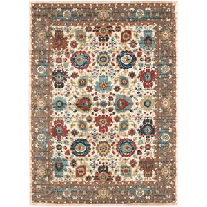 Spice Market Musi Cream Rectangular: 5 Ft. 3 In. x 7 Ft. 10 In. Rug