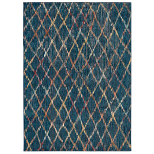 Intrigue Pique Sapphire Rectangular: 3 Ft. 5 In. x 5 Ft. 5 In. Rug