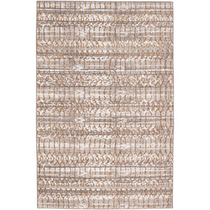 Cosmopolitan Flirt Brushed Gold by Patina Vie Rectangular: 5 Ft. 3 In. x 7 Ft. 10 In. Rug