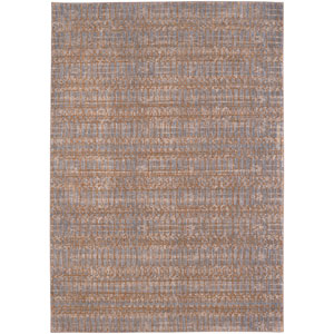 Cosmopolitan Flirt Brushed Gold by Patina Vie Rectangular: 8 Ft. x 11 Ft. Rug