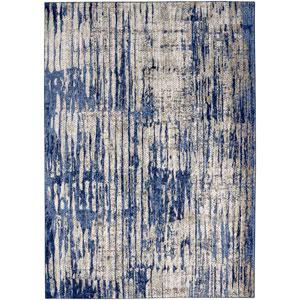 Cosmopolitan Mineral Bleu Indigo by Patina Vie Runner: 2 Ft. 4 In. x 7 Ft. 10 In. Rug