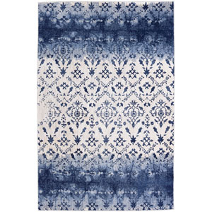 Cosmopolitan Netherlands Indigo by Patina Vie Runner: 2 Ft. 4 In. x 7 Ft. 10 In. Rug