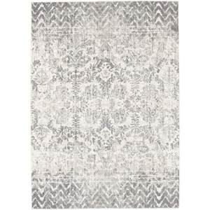 Touchstone Le Jardin Willow Gray by Patina Vie Rectangular: 3 Ft. 6 In. x 5 Ft. 6 In. Rug