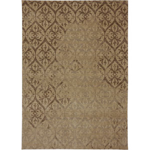 Evanescent Modena Camel Rectangular: 5 Ft 6 In x 8 Ft Rug