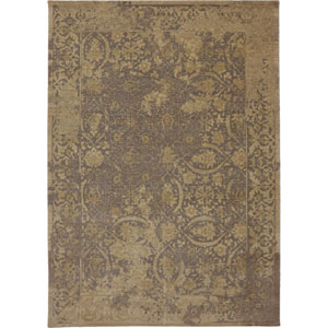 Evanescent Terni Gray Rectangular: 5 Ft 6 In x 8 Ft Rug