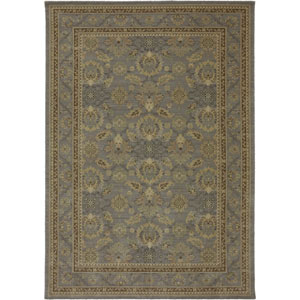 Evanescent Pescara Gray Rectangular: 5 Ft 6 In x 8 Ft Rug