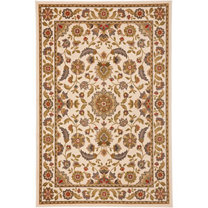 Symphony Hollandale Ivory Rectangular: 3 Ft 6 In x 5 Ft 6 In Rug