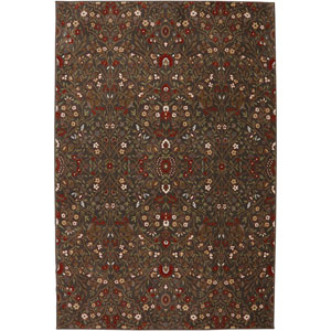 Symphony Western Prairie Saddle Rectangular: 3 Ft 6 In x 5 Ft 6 In Rug