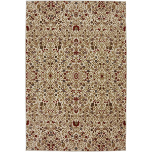 Symphony Western Prairie Ivory Rectangular: 3 Ft 6 In x 5 Ft 6 In Rug