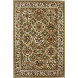Symphony Copperhill Pale Wheat Rectangular: 3 Ft 6 In x 5 Ft 6 In Rug